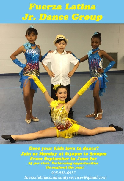 latin dance classes kids