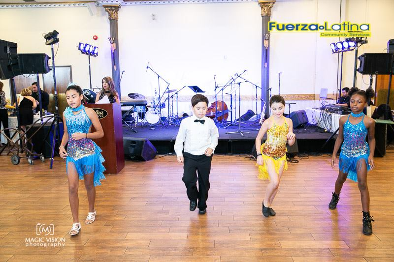 Latin dance class