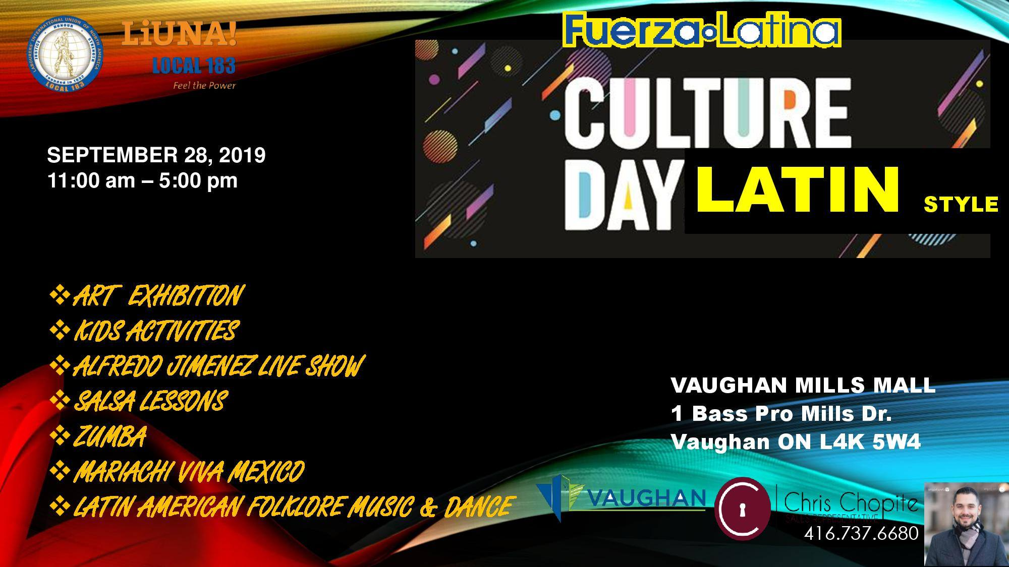 Culture Days Latin Style